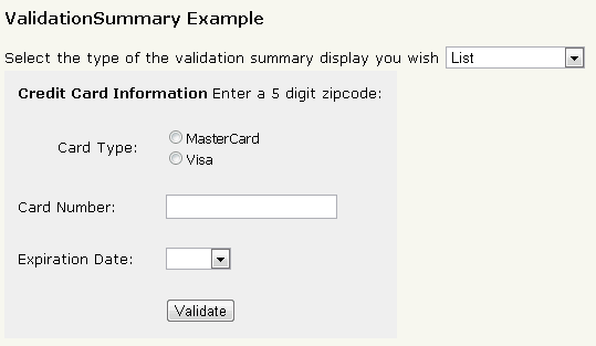 validation controls asp.net 5