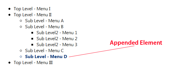 Jquery remove element after append - Jquery remove div ...