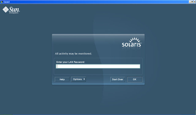 SAS on Unix -- Solaris Login