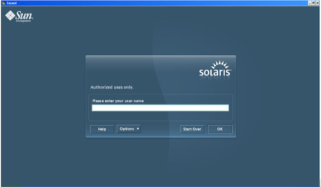 SAS on Unix - Solaris Login