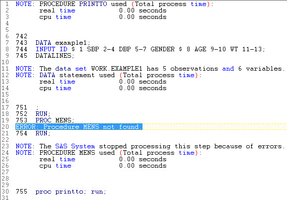 sas error Process for spss and sas can be run as a syntax driven macro, and   spss and sas won't generate these standard errors, but process will (as will  my.